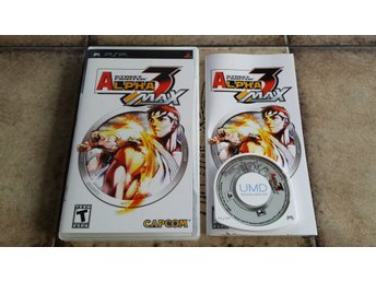 Street Fighter Alpha 3 Max Sony PSP