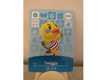 Animal Crossing Amiibo Welcome Amiibo card nr 399 Twiggy