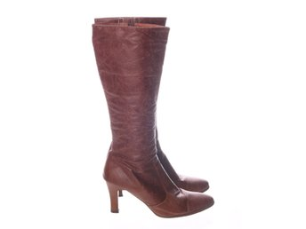 X-IT, Over-knee Boots, Strl: 40, Brun