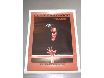 CLINT EASTWOOD - TIGHTROPE MOVIE POSTER ( 110 x 70 cm )