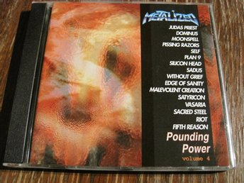 POUNDING POWER - VOL.4, JUDAS PRIEST,RIOT, MOONSPELL MFL., CD