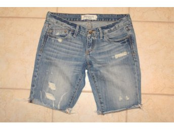 Abercrombie & Fitch jeans shorts i st.XS.