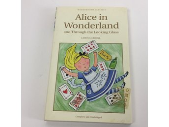 Böcker, Alice in wonderland an through the looking glass