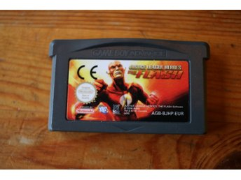 The Flash * Gameboy Advance * Bra skick! * Original * GBA  Justice Leauge Heroes