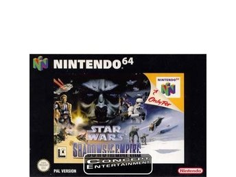STAR WARS - SHADOWS OF THE EMPIRE till Nintendo 64, N64