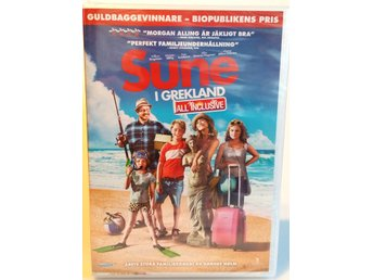 Sune I Grekland All Inclusive  DVD Film *Ny* SISTA