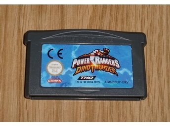 GBA: Power Rangers Dino Thunder