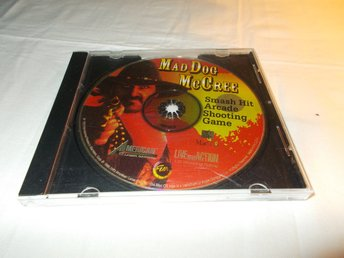 Mad Dog McCree till Mac CD ROM American Laser Games