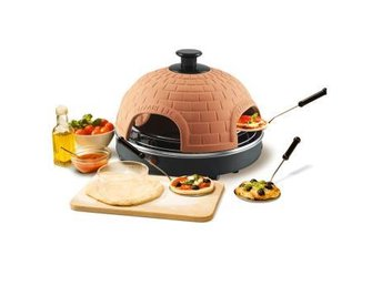 Emerio Pizza Maker Terracotta - Nossebro - Emerio Pizza Maker Terracotta - Nossebro