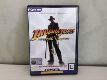 PC spel. Indiana Jones and the infernal machine.