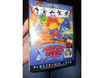 Sega mega spel *James Pond Aquatic Games*