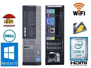 DELL i3 + Wi-Fi 3.30 GHz win 10 + 6-9M Garanti