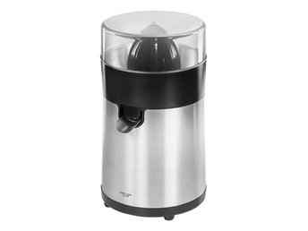 Citrus juicer 100W, stainless steel matt finish.