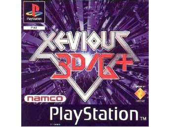 Xevious 3D/G+ - Playstation
