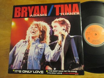 "Bryan Adams with Tina Turner ""It's Only Love"""