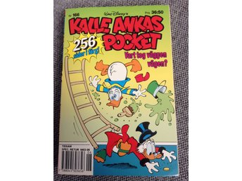 Kalle Ankas pocket nr 166