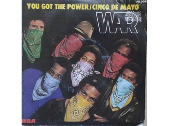 "War title* You Got The Power* Disco 7"" France"