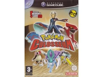 Pokemon Colosseum utan Minne (Beg)