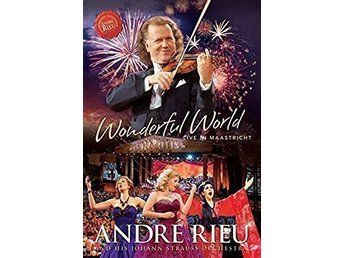 DVD - Wonderful World - Live in Maastricht ANDRE RIEU - DVD