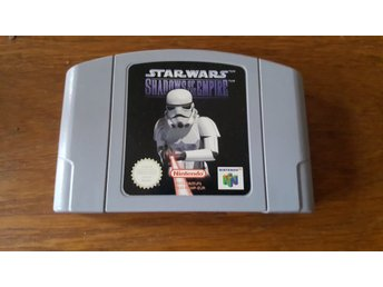 STAR WARS SHADOWS OF THE EMPIRE N64 BEG