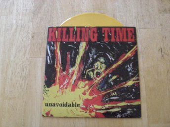 "Killing Time - Unavoidable 7"" (Yellow Vinyl)  TOPPEX"