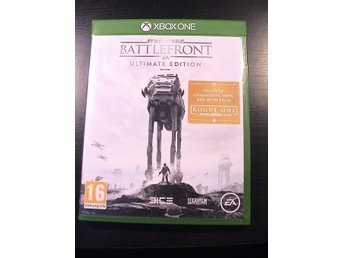 STAR WARS BATTLEFRONT - ULTIMATE EDITION / XBOX ONE / HELT NYTT!