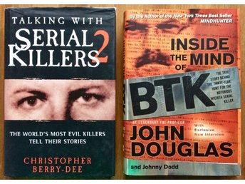 Böcker x 2: Talking with Serial Killers 2 & BTK (John Douglas) (True Crime)
