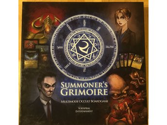 Summoner's Grimoire - An Esoteric and Occult Boardgame