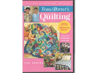 Fons & Porter's Love of Quilting 700 series DVD