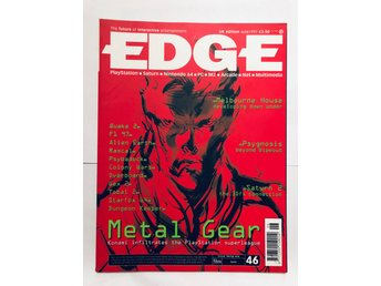 EDGE 46 June 1997 Metal Gear Solid, Saturn 2, Starfox 64