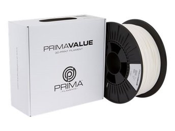 PrimaValue PLA filament, 1.75mm, 1kg, vit