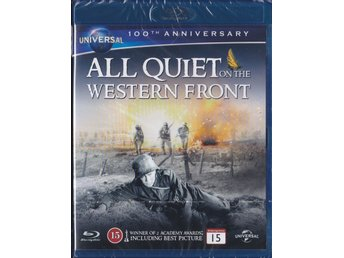 På västfronten intet nytt - All Quiet on the Western Front 1930 + Blu-Ray NY