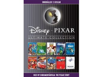 Disney Pixar - Ultimate Collection (13-disc) - NY  INPLASTAD