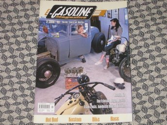 GASOLINE MAGAZINE 3 2006 Hot Rod Custom HD Chevelle Edsel Buick Ford 1932