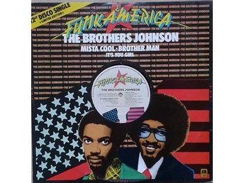 "The Brothers Johnson title*  Mista Cool / Brother Man* Funk, Disco UK 12"" Ltd."