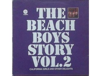 The Beach Boys title *The Beach Boys Story Vol.2 LP Comp