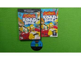 The Simpsons Road Rage KOMPLETT Gamecube Nintendo Game Cube