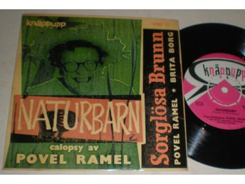 Povel Ramel EP/PS Naturbarn 1957