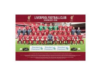 Liverpool Affisch Squad 18