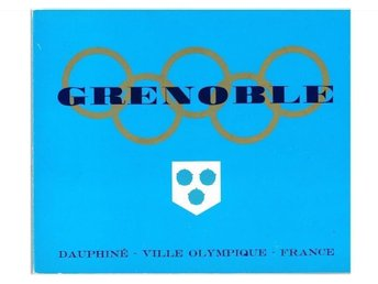GRENOBLE - Xes Jeux Olympiques D'Hiver Grenoble 1968