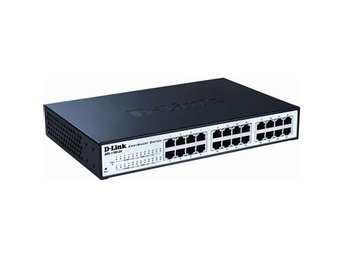 D-Link 24-port 10/100/1000 EasySmart Switch, Rackmount