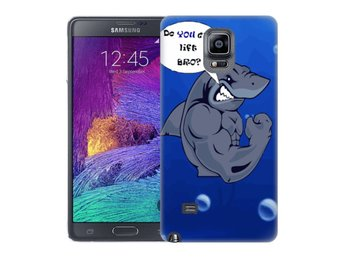Samsung Galaxy Note 4 Skal Bodybuilder Haj