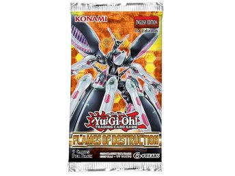 Yu-Gi-Oh! Flames Of Destruction Booster