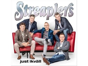 Streaplers: Just ikväll 2018 (CD)