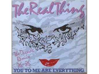 The Real Thing title* You To Me Are Everything (The Decade Remix 76-86)* Disco 1