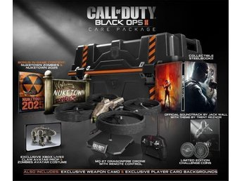 Call Of Duty Black Ops 2 Care Package PS3 spel *RARE* NYTT o INPLASTAT