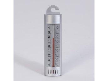 Javascript är inaktiverat. - Höganäs - TERMOMETERFABRIKEN Termometer Kyl & Frys Kyl och frystermometer Analog kyl/frys termometer Mätområde: –50 till +50C Silverfärgad plast Analog termometer för kyl och frys ## Frakt ## Ni betalar endast en fraktkostnad. Den som är den hög - Höganäs