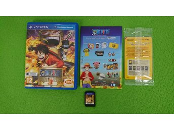 One Piece Pirate Warriors 3 Playstation Vita PS