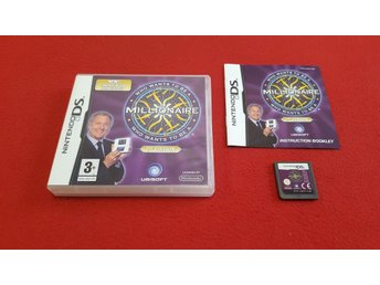 WHO WANTS TO BE A MILLIONAIRE 2:ND ED. till Nintendo DS NDS