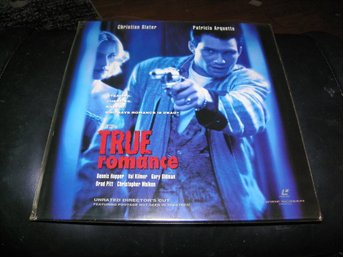True Romance- unrated director's cut - Widescreen edition  2st  Laserdisc